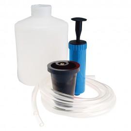 Pompe d'extraction huile et liquides 1,5L