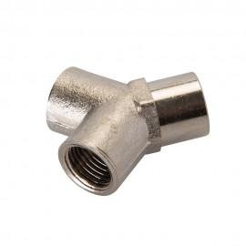 Raccord en Y pour tuyau air comprimé