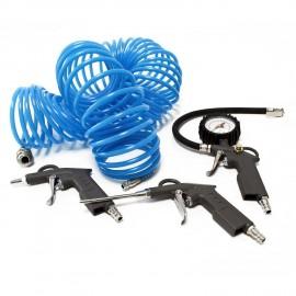 3 outils pneumatique + tuyau 15m